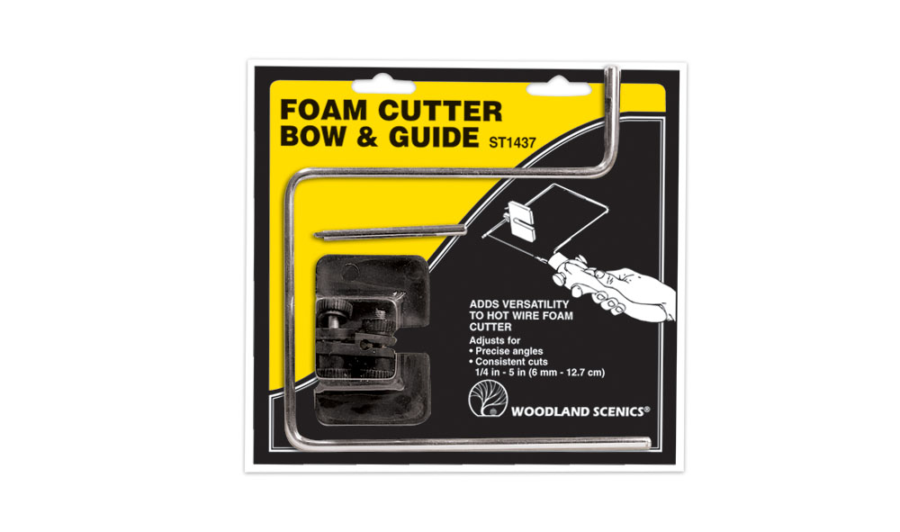 Hot Wire Foam Cutter Attachment: Bow & Guide