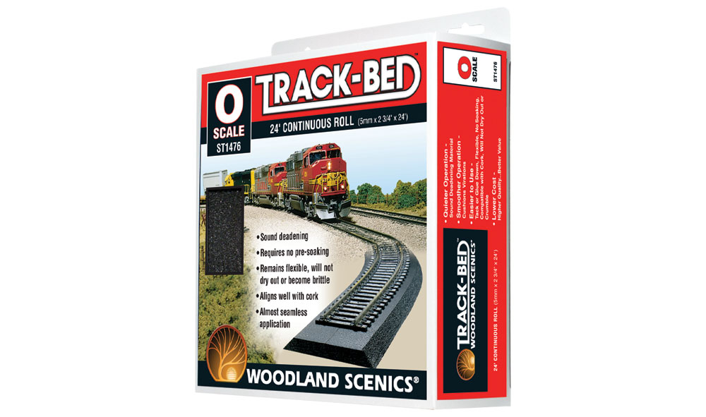 Track-Bed™ Roll - O Scale
