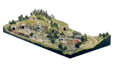 layout kits woodland scenics