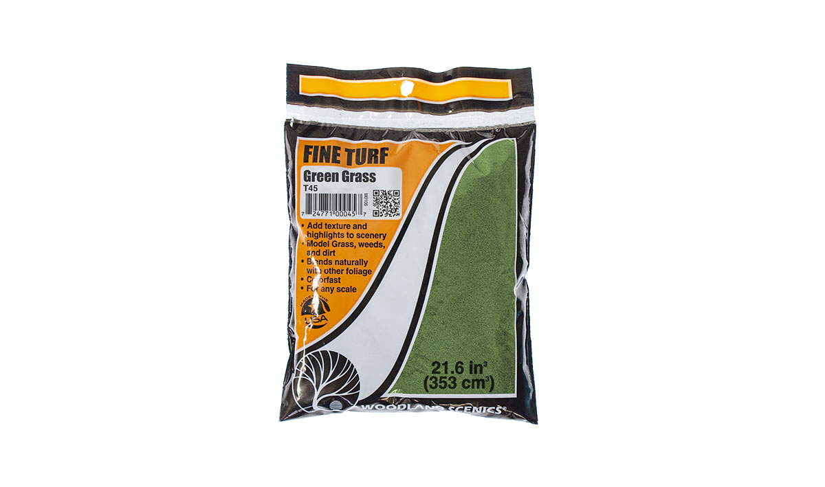 Fine Turf Green Grass Bag