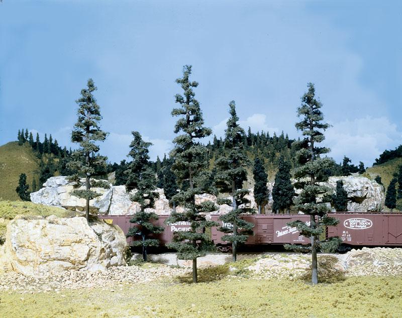 Pine Trees Large Tree Kits Woodland Scenics Model