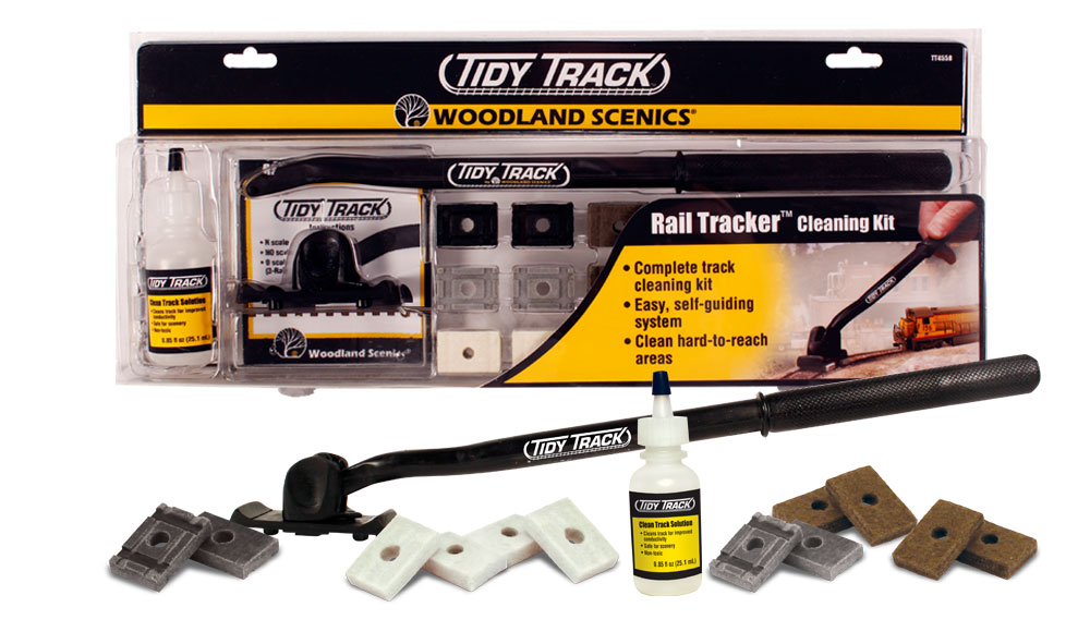 Rail Tracker<sup>™</sup> Cleaning Kit