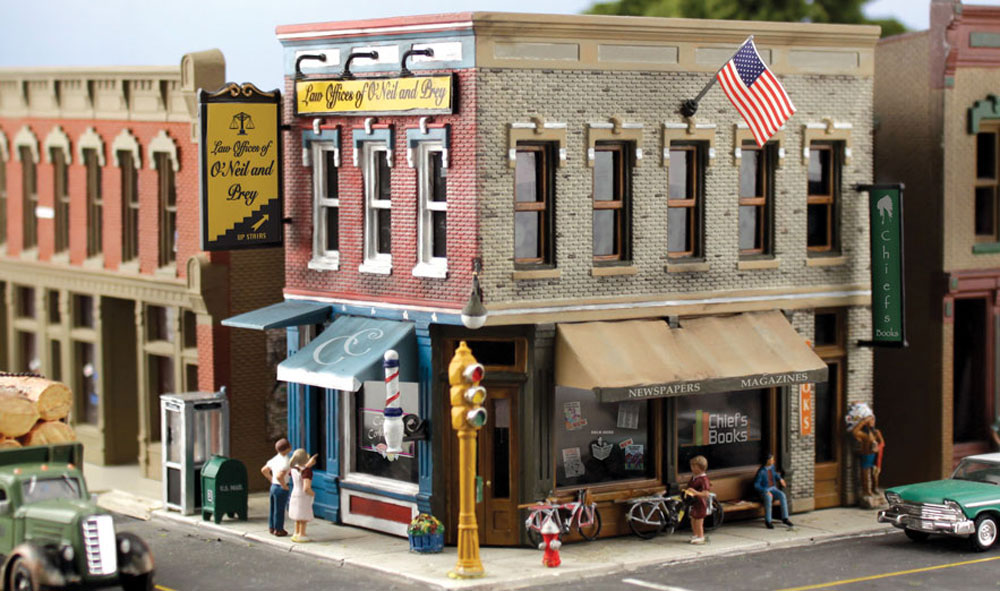 Main Street Mercantile N Scale Kit Woodland Scenics