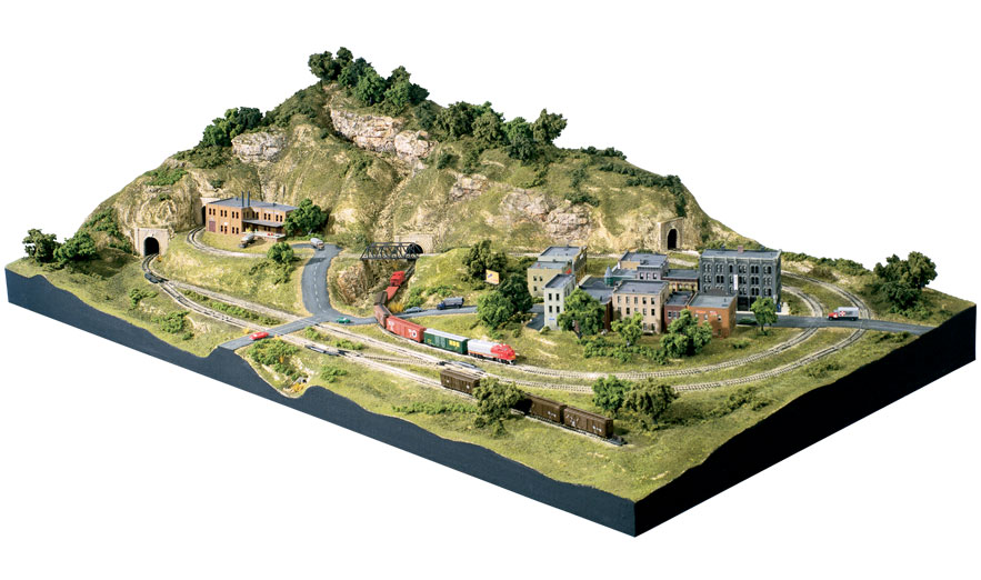 Scenic Ridge<sup>®</sup> N Scale Lightweight Layout Kit