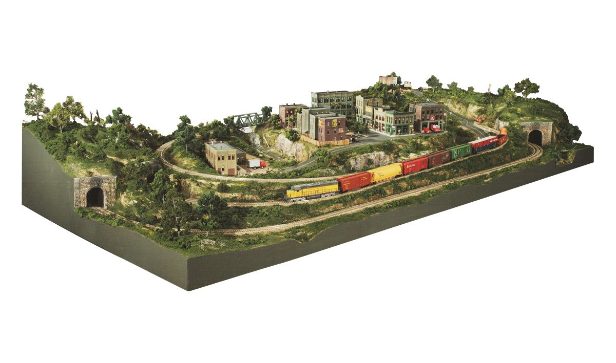 River Pass™ HO Scale Layout Kit