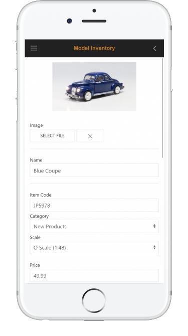 Model Inventory App Details Woodland Scenics